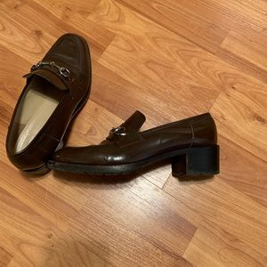 vintage Gucci loafers size 7